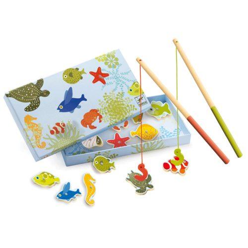 Horgász játék - Fishing tropic Djeco
