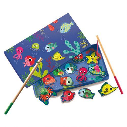 Horgász játék - Fishing colour Djeco