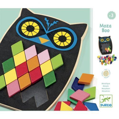 Képkirakó - Színes mozaik - Mosa Boo Djeco