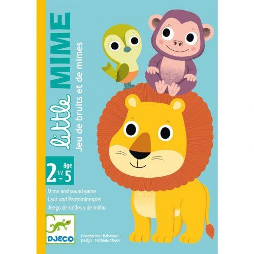 Kártyajáték - Utánzoo - Little Mime Djeco