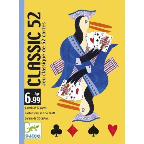 Kártyajáték - Klasszikus francia kártya - Classic 52 Djeco