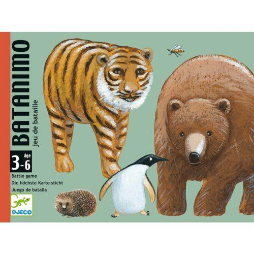 Kártyajáték - Kisebb-nagyobb - Batanimo Djeco