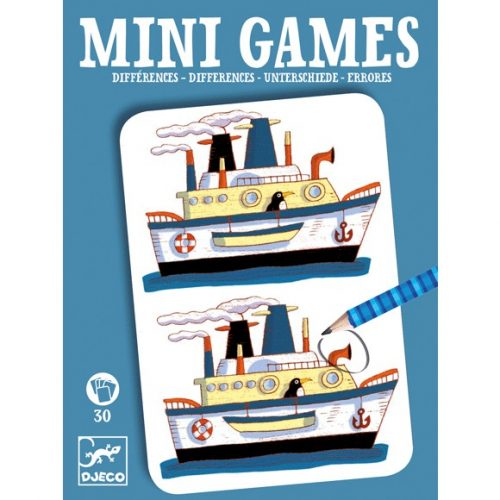 Mini játékok - Eltérések - Differences by Rémi Djeco