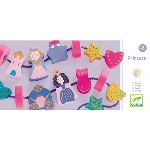 Fűzős játék - Hercegnős fűzőcske - Filaprincess Djeco