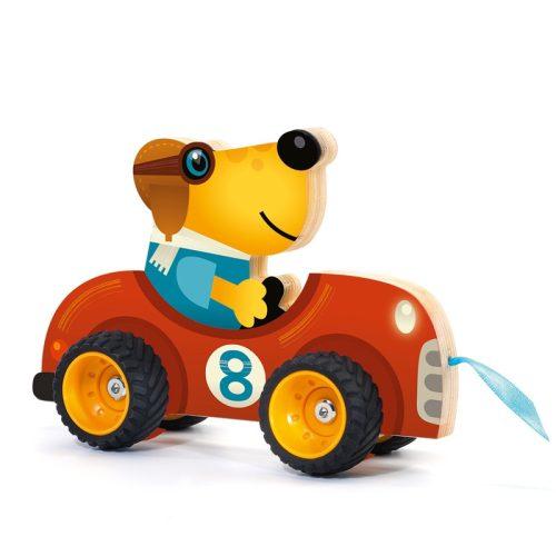 Húzós játék - Terreno car Djeco