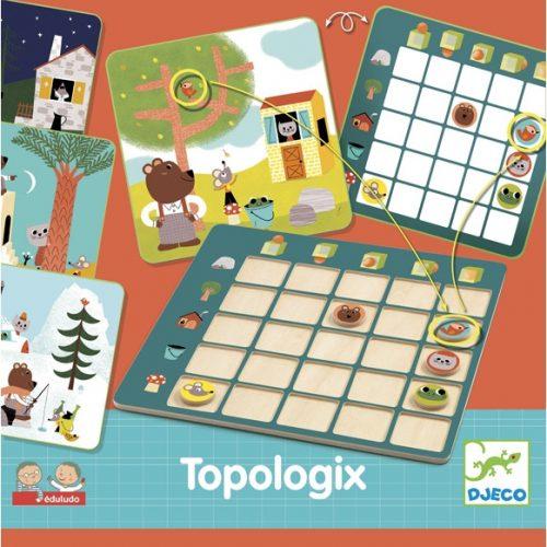 Fejlesztő játék - Viszonyító - Eduludo Topologix Djeco