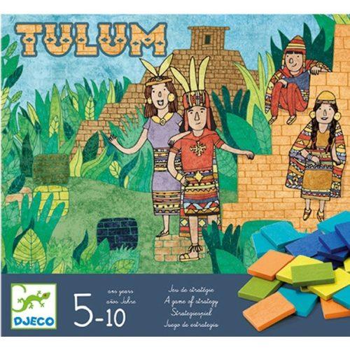 Társasjáték - Piramisépítő - Tulum Djeco