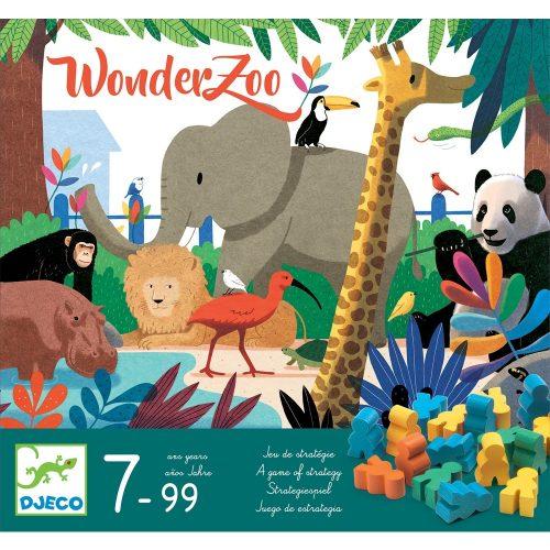 Társasjáték - Csodállatkert - WonderZoo Djeco