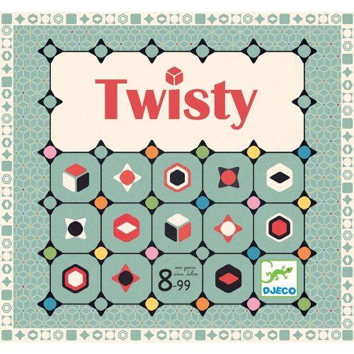 Társasjáték - Színkígyózó - Twisty Djeco