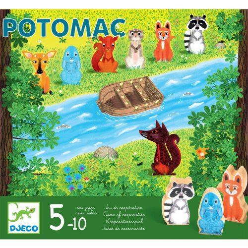 Társasjáték - Állati mentőcsónak - Potomac Djeco