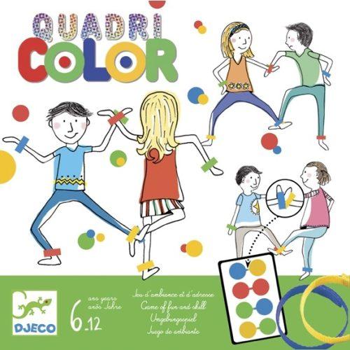 Társasjáték - Négyszín - Quadricolor Djeco
