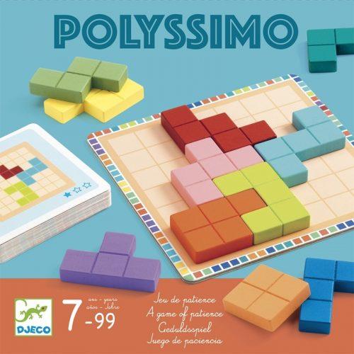 Logikai játék - Tetris négyzetkirakó - Polyssimo Djeco