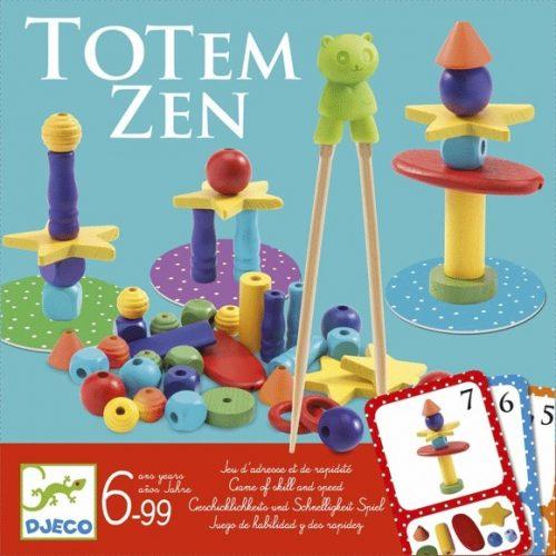 Társasjáték - Biztos fogás -Totem Zen Djeco
