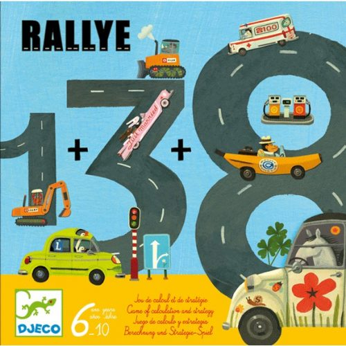 Társasjáték - Autóverseny - Rallye Djeco