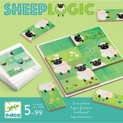 Képkirakó játék - Birka logika - Sheep logics Djeco