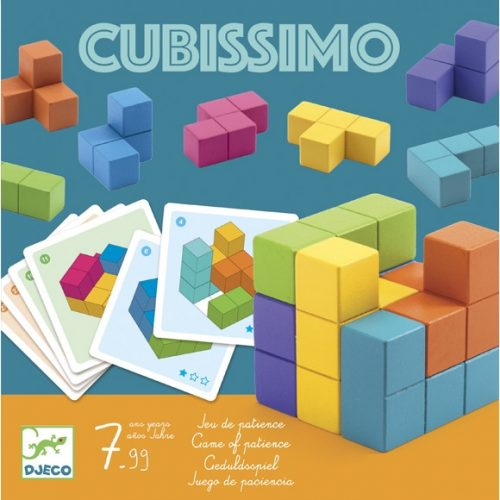 Logikai játék - Kockakirakó - Cubissimo Djeco