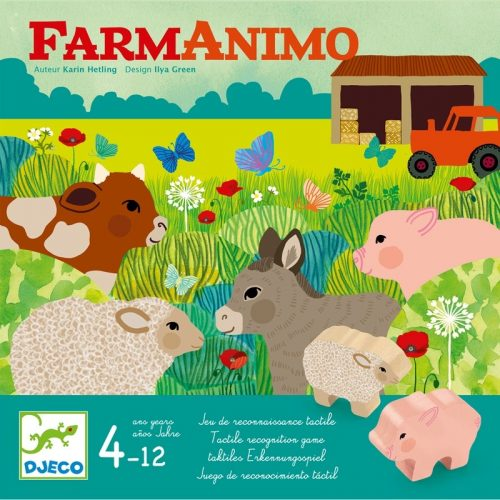 Társasjáték - Farmos - FarmAnimo Djeco