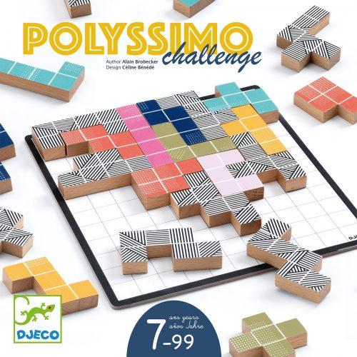 Társasjáték - Térfeltöltő - Polyssimo Challenge Djeco