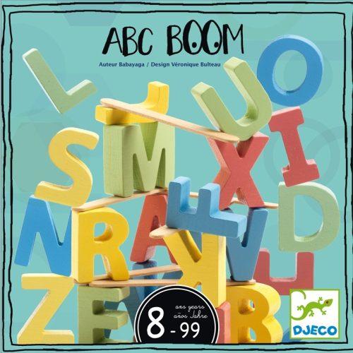 Társasjáték - Teszek rá abc - ABC Boom Djeco