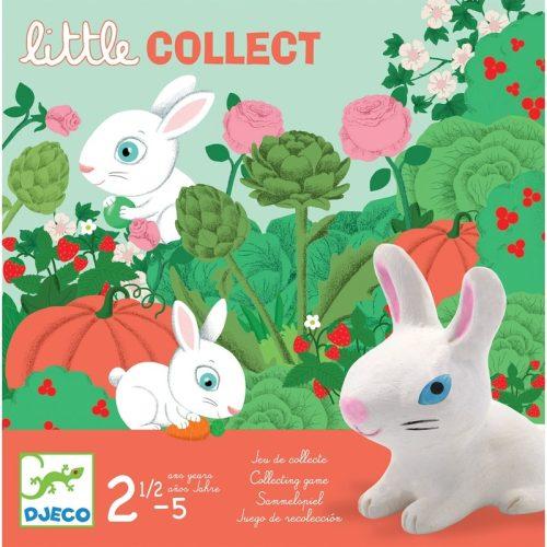 Társasjáték - Nyuszi ül a fűben - Little collect Djeco