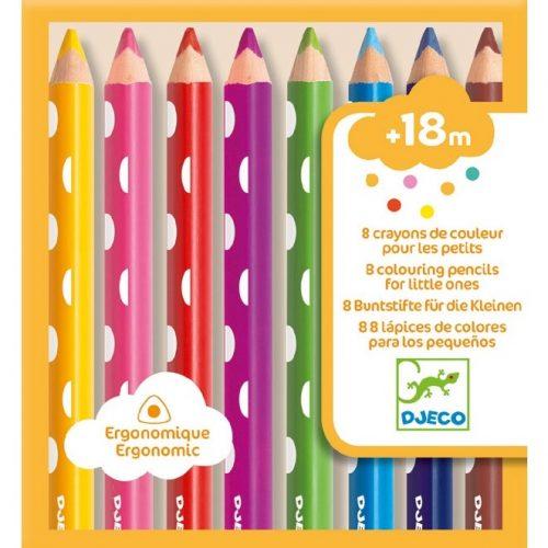 Színesceruza 8 colouring pencils for little ones Djeco