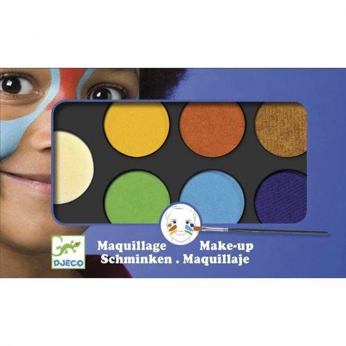 Arcfesték - Természet - Palette 6 colours - Nature Djeco
