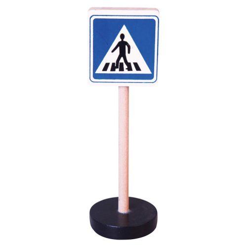 Közlekedési tábla - Gyalogos átkelőhely