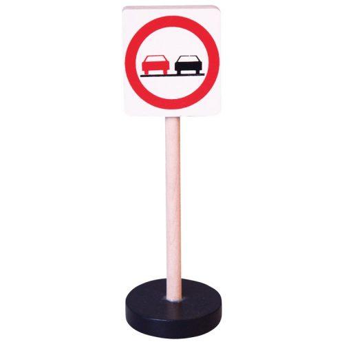 Közlekedési tábla - Előzni tilos