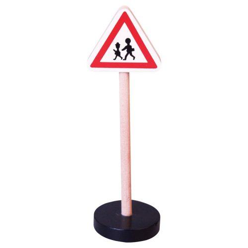 Közlekedési tábla - Gyalogosok