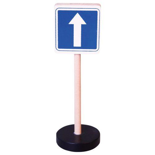 Közlekedési tábla - Egyirányú forgalom