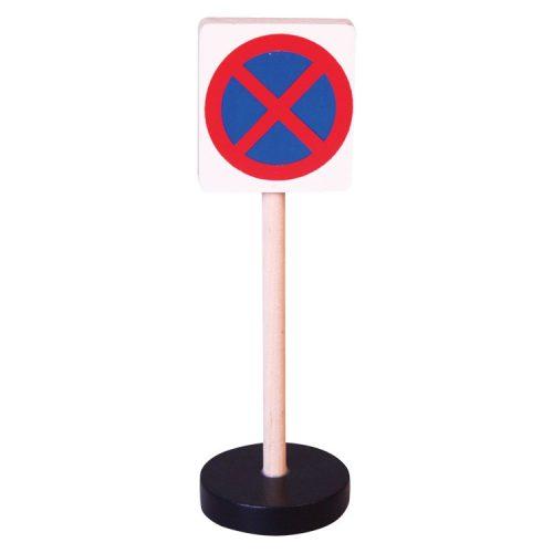 Közlekedési tábla - Megállni tilos
