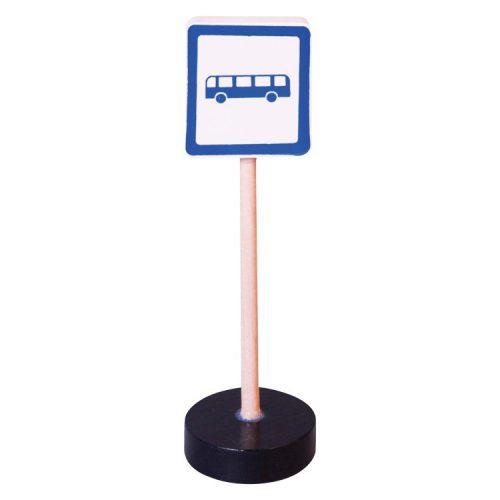 Közlekedési tábla - Buszmegálló