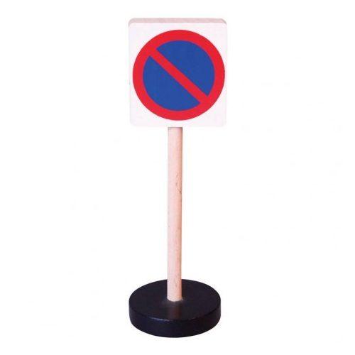 KÖzlekedési tábla - Várakozni tilos