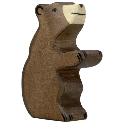 Medvebocs ülő Holztiger