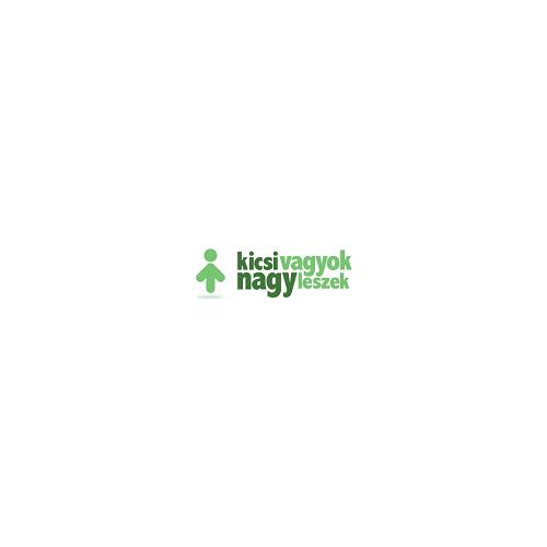 Ház formájú szekrény polcokkal, nagy, ezüstszürke JaBaDaBaDo