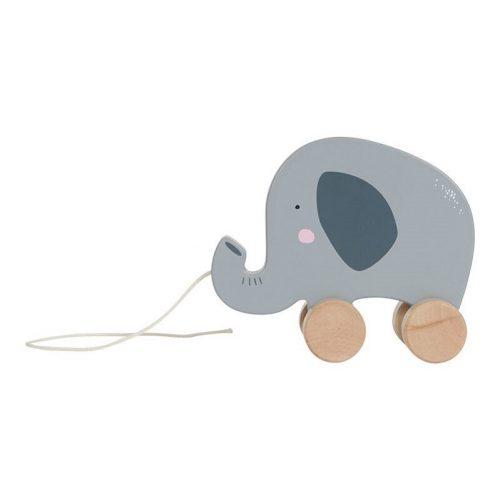 Húzós játék - elefánt Little Dutch