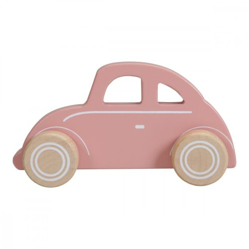 Beetle autó rózsaszín Little Dutch