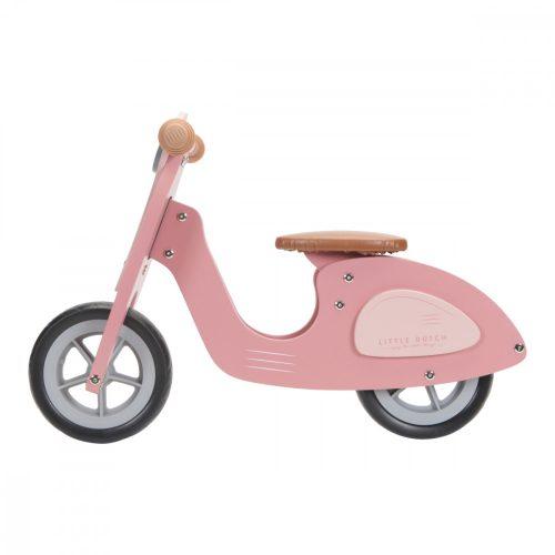Fa robogó rózsaszín Little Dutch