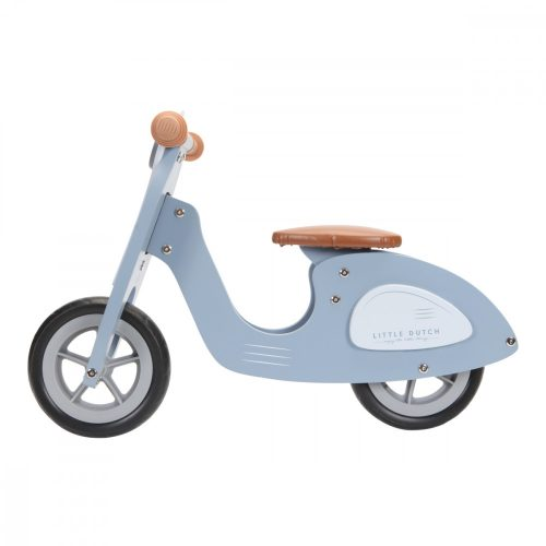 Fa robogó kék Little Dutch