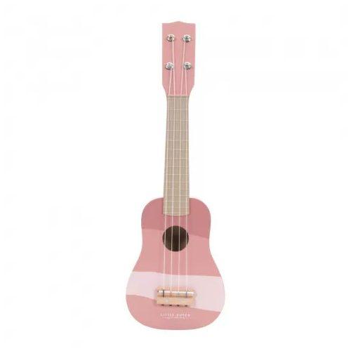 Gitár rózsaszín Little Dutch